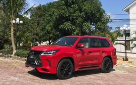 Dân chơi Việt độ Lexus LX 570 đời 2008 thành phiên bản Super Sport 2019 với màu sơn hàng độc