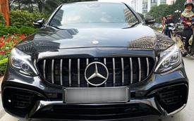 Mercedes-Benz C250 AMG độ full bodykit E63 AMG được rao bán với giá rẻ hơn Toyota Camry 2.5Q
