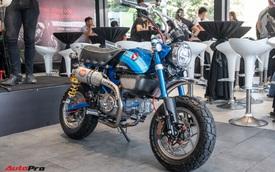 'Xe khỉ' Honda Monkey 125 khác biệt với dàn đồ chơi ngang ngửa chiếc SH125i