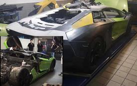 Dân chơi đồng hồ khét tiếng Hà Nội hồi sinh Lamborghini Aventador bị cháy rụi: 'Tưởng như chỉ còn là cân sắt vụn'