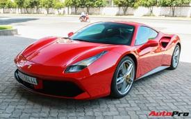 Ferrari 488 GTB từng thuộc sở hữu của ông Đặng Lê Nguyên Vũ xuất hiện tại showroom Ferrari