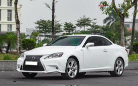Lột xác nhờ thay đổi nhỏ, Lexus IS250C có giá bán lại 1,2 tỷ đồng sau 9 năm tuổi