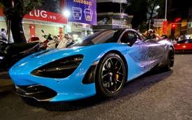 McLaren 720S Spider độc nhất Việt Nam tiếp tục đổi màu theo trend