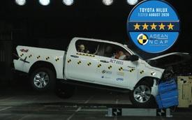 Toyota Hilux, Fortuner vừa ra mắt Việt Nam nếu tai nạn sẽ như thế nào, có nổ túi khí không?