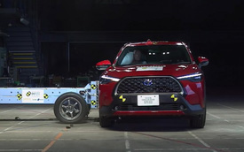 Toyota Corolla Cross đạt 5 sao an toàn nhưng vẫn có điểm chưa tuyệt đối cần biết