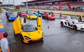 Evo Team hội ngộ tại trường đua Đại Nam dịp cuối tuần, dàn xe đầy sắc màu gây sự chú ý lớn