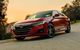 Honda Accord 2021 ra mắt: Lần đầu bỏ tùy chọn hộp số sàn, thêm phiên bản đặc biệt đấu Toyota Camry