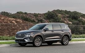 Ra mắt chưa lâu, Hyundai Santa Fe 2021 đã được bổ sung động cơ mới
