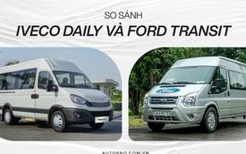 Iveco Daily vs Ford Transit: Tân binh đối đầu vua doanh số