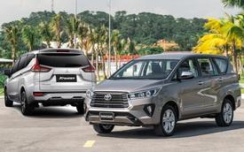 Toyota Innova và bài toán khó lấy lại ngôi vương từ Mitsubishi Xpander