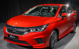 Honda City 2020 sắp ra mắt Việt Nam có thêm gói bodykit thể thao với cánh gió hầm hố