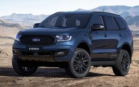 Ford Everest phiên bản mới rục rịch ra mắt tại Việt Nam: Ngoại hình hầm hố, đáp trả Toyota Fortuner và Mitsubishi Pajero Sport
