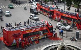 Xe bus 2 tầng Hà Nội hoạt động trở lại từ sáng 17/10