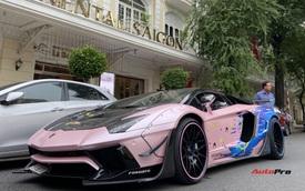 Ngắm Lamborghini Aventador độ Liberty Walk độc nhất Việt Nam 'khoác áo' Thủy thủ Mặt Trăng