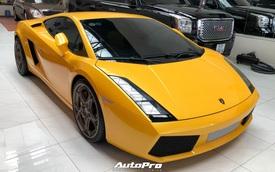 Lamborghini Gallardo từng của doanh nhân Nguyễn Quốc Cường trở nên khác lạ với bộ mâm gần 400 triệu đồng