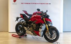 Những điều cần biết về Ducati Streetfighter V4S vừa ra mắt tại Việt Nam: Giá bán ngang ngửa một chiếc Hyundai Elantra Sport