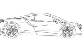 Siêu xe McLaren bí ẩn dùng động cơ hybrid dần lộ diện