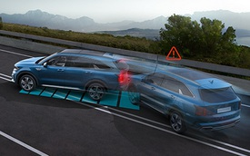 Kia Sorento tiêu chuẩn hoá phanh tự động, phiên bản tại Việt Nam có thể được nâng cấp
