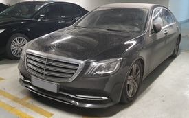 Mercedes-Benz S 450 L trị giá hơn 4 tỷ đồng bị bỏ xó: Cư dân mạng vừa xót xa, vừa phẫn nộ vì cách đỗ xe