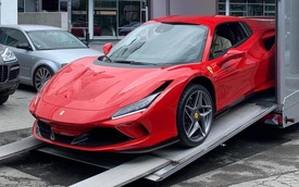 Ferrari F8 Spider thứ 2 về Việt Nam, ngoại hình dễ gây nhầm lẫn với F8 Tributo của Nguyễn Quốc Cường
