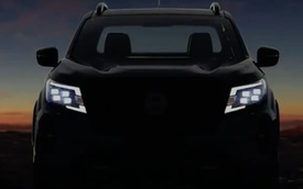 Nissan Navara 2021 nhá hàng lần đầu tiên: Đèn pha gây kích thích, có thể sớm về Việt Nam
