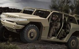 Kia hé lộ xe quân sự mới, hầm hố không kém Humvee của người Mỹ