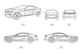 Lộ bản vẽ VinFast Lux A2.0 phiên bản 2 cửa: Xe thể thao Việt tham vọng đối đầu Mercedes E-Class Coupe?