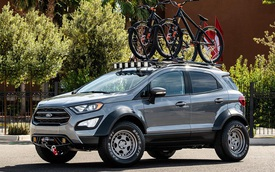 Ford EcoSport bản nâng cấp mới 'nhá hàng': Thiết kế thể thao, gầm cao hơn trước