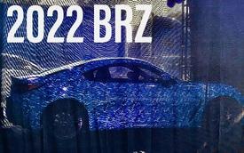 Subaru BRZ 2022 bất ngờ lộ nguyên thiết kế trước ngày ra mắt