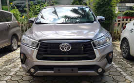 Toyota Innova 2020 lộ diện hoàn toàn tại đại lý: Đầu hầm hố như SUV, thêm trang bị mới, đáp trả Mitsubishi Xpander