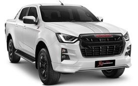 Isuzu tung D-Max phiên bản thể thao đối đầu với Ford Ranger và Toyota Hilux