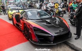 Tổ chức sinh nhật cho vợ, Hoàng Kim Khánh lần đầu tiên mang siêu phẩm McLaren Senna ra đường
