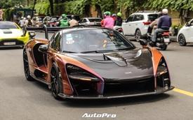 Vợ chồng đại gia Hoàng Kim Khánh cầm lái McLaren Senna giá trước thuế gần 40 tỷ đồng trên phố Sài Gòn