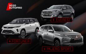 Pajero Sport đấu Fortuner và Everest: Cuộc đua trang bị của 'tam mã' SUV giá hơn 1 tỷ đồng tại Việt Nam