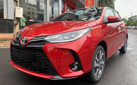 Toyota Yaris 2020 cập bến Việt Nam: Đầu hầm hố như Camry, đèn 'full' LED kiểu Lexus