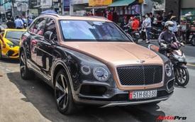 Cận cảnh Bentley Bentayga V8 hai tông màu cực độc của doanh nhân Hoàng Kim Khánh, tiểu sử của chiếc xe gây chú ý