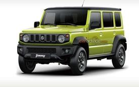 Suzuki Jimny phiên bản 5 cửa sắp ra mắt: Phiên bản xứng đáng để người Việt Nam thèm khát