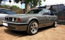Bán BMW E34 'già' gần 30 tuổi, chủ xe vẫn được khen tới tấp dù chào giá hơn 320 triệu đồng