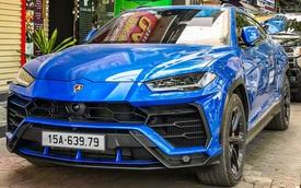Lamborghini Urus xanh dương của doanh nhân Hải Phòng ra biển số thần tài lớn, thần tài nhỏ gây ấn tượng