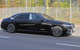Mercedes-Maybach S-Class lộ diện trần trụi, ra mắt 20/11 cho ông chủ thích sang chảnh