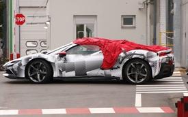 Siêu phẩm Ferrari SF90 Spider mui trần ra mắt ngay trong tuần này?