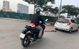 Yamaha Exciter 2021 bất ngờ chạy thử tại Hà Nội: Thiết kế và phanh bị chê nhưng động cơ 155cc là ẩn số