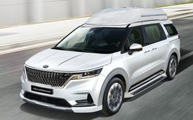 Ra mắt Kia Sedona 2021 phiên bản 'Chủ tịch': Giá quy đổi 1,25 tỷ đồng, nhiều tiện nghi như xe sang