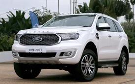 Ford Everest 2021 về Việt Nam cuối tháng 11: Đẹp hơn, nâng cấp để bám đuổi Hyundai Santa Fe và Toyota Fortuner