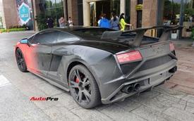 Cận cảnh Lamborghini Gallardo độ độc nhất Việt Nam, một chi tiết trị giá 100 triệu đồng đã bị lược bỏ