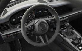 Porsche 911 GT3 lộ nội thất nhưng vòng tua máy 9.000 v/ph mới gây chú ý