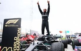 Lewis Hamilton vô địch F1 lần thứ 7, san bằng kỷ lục huyền thoại Michael Schumacher