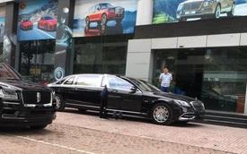 Mercedes-Maybach S 650 Pullman đầu tiên về Việt Nam, dân tình đồn giá phải hàng chục tỷ đồng