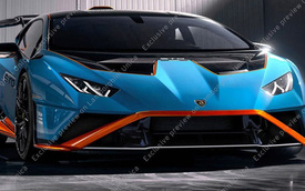 Lamborghini Huracan STO lộ diện - Hàng hot cho đại gia Việt đặt về nước