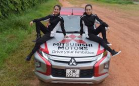 Hai bóng hồng 9X Sài Gòn lái bán tải tranh tài tại giải đua xe địa hình lớn nhất Việt Nam
